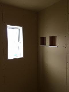 廊下のニッチ棚