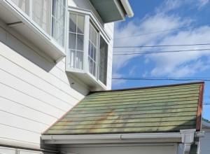 コロニアル屋根の劣化
