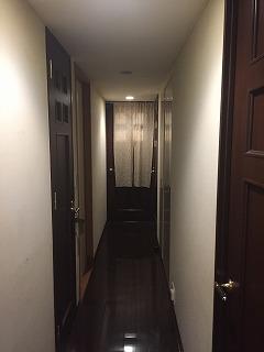廊下クロス張替え相談