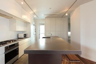 キッチン収納、照明