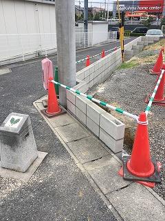外構 駐車場整地