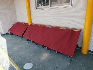 三輪車テント