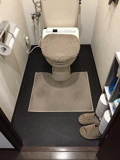マンショントイレ BEFORE