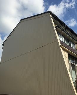 外壁部分張替えガルバ二ウム鋼板