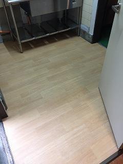 店舗キッチン床 AFETR