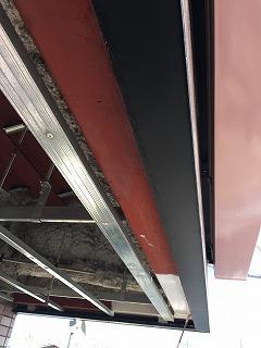 アパートの雨漏り補修2