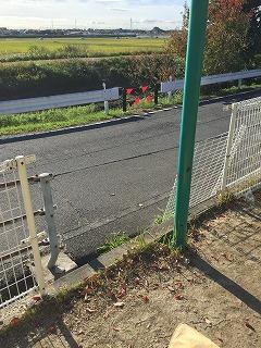 フェンスの修繕
