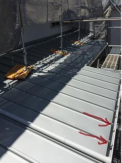 屋根 雨どい設置