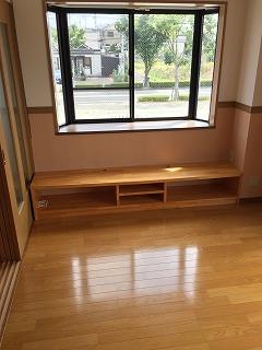 アパート TVボードの作成