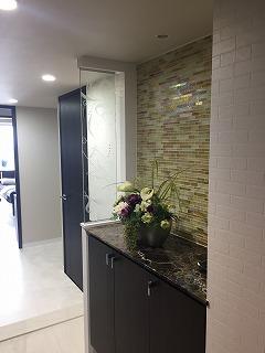 マンション内装  床と壁